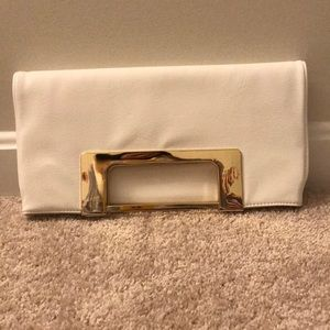 Handbags - White clutch